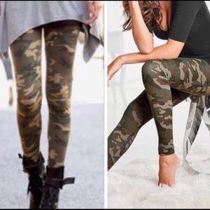 Super Trendy and Soft Camo leggings